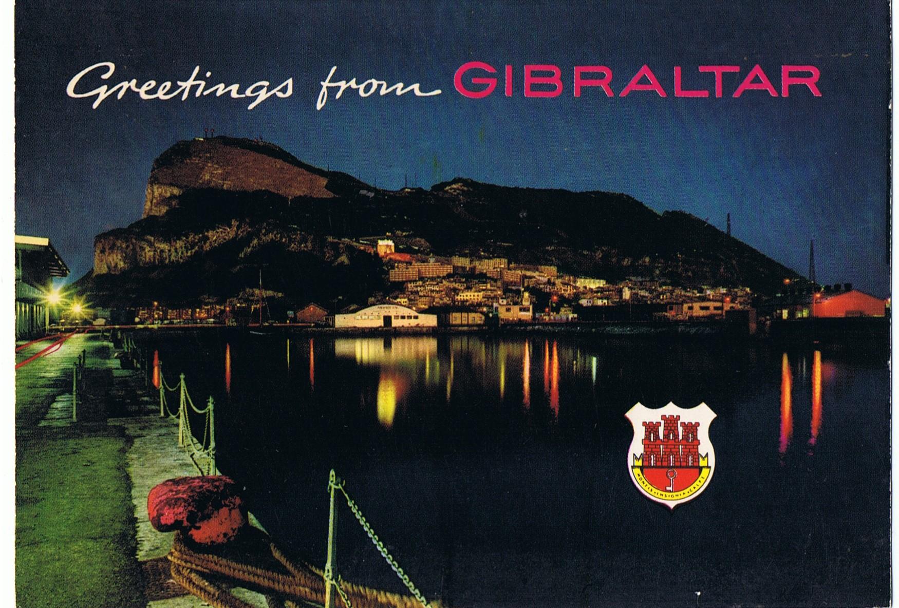 GibraltarFelsenNacht